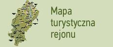 Mapa turystyczna rejonu Rożniatowskiego